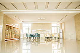 Administrative building lobby